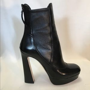 Miu Miu Calzature Donna Nappa Stretch boot
